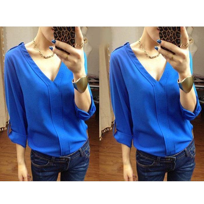 blouse atasan wanita lengan panjang beyonce / kemeja wanita / tunik wanita / top sabrina /