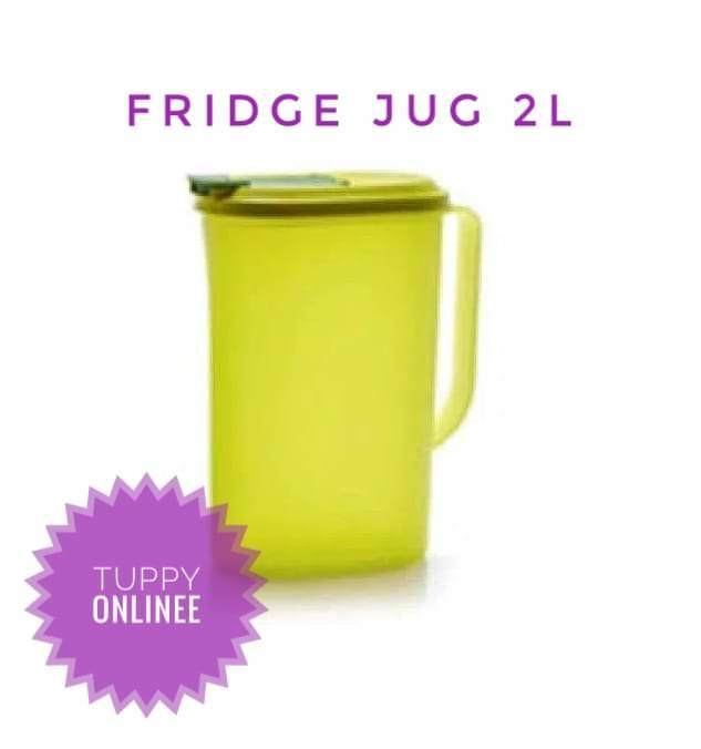 fridge jug 2 l teko air tupperware
