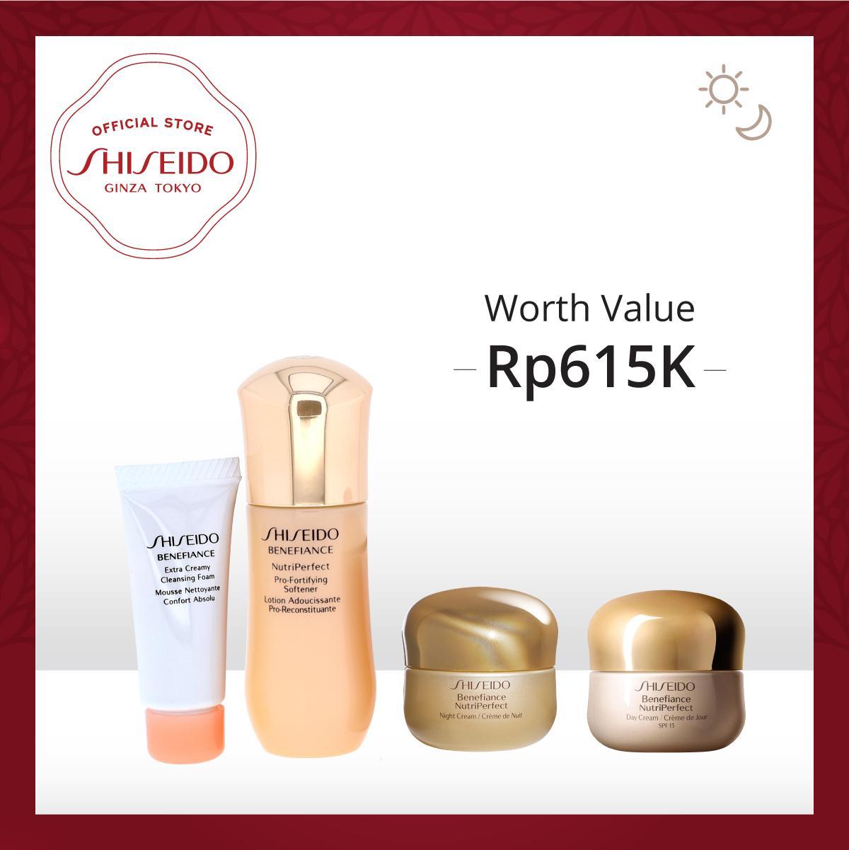 Shiseido Benefiance WrinkleResist Travel Kit Online Exclusive
