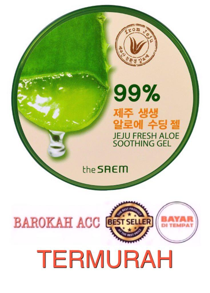 The Saem Jeju Fresh Aloe Vera 99% Soothing Gel Korea - 300ml-BR