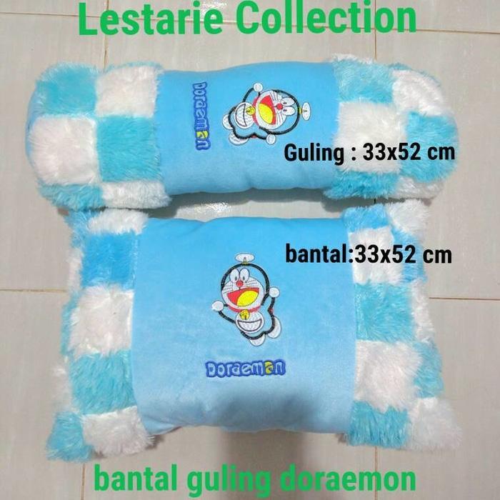 Bantal Doraemon/Bantal Anak/Bantal Lucu/Bantal Guling Doraemon - J16H4H