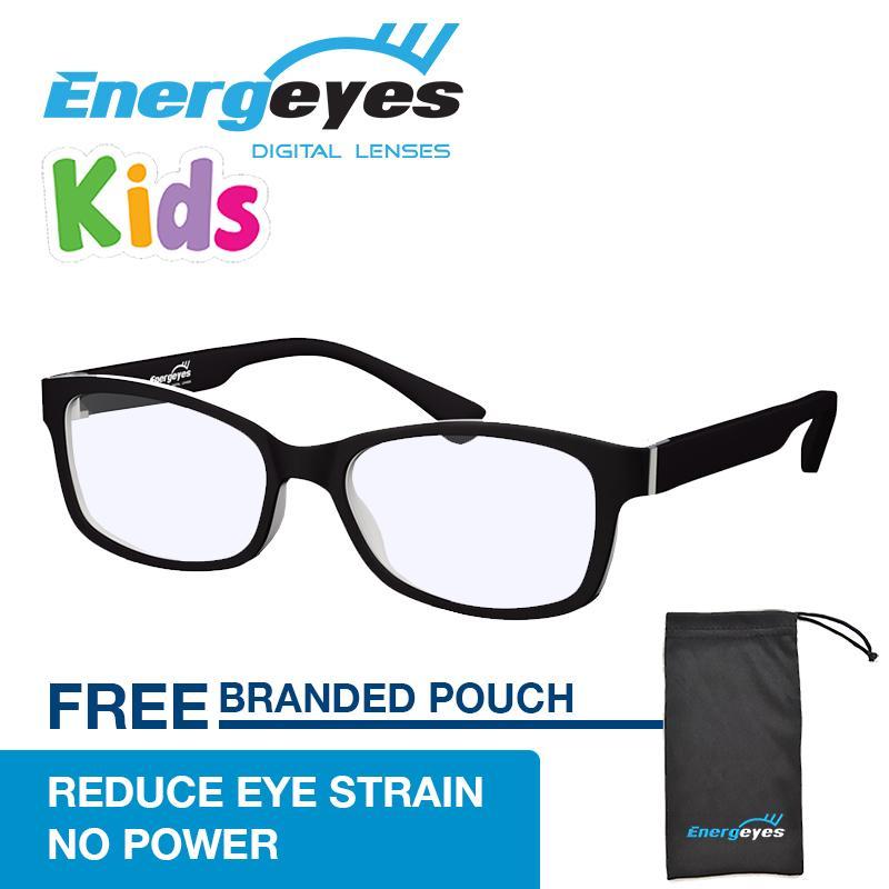 Top 10 Anak Anak Energeyes Melindungi Mata Dan Dipotong Biru Light Oleh 50 Komputer Kacamata Anak Anak Rectangle Matte Hitam Depan Dan Putih Kembali Online