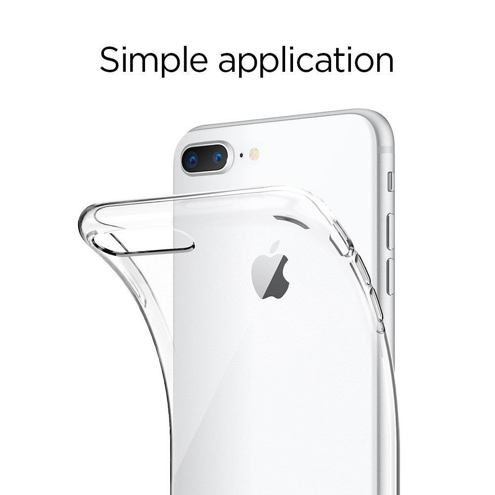 Features Spigen Liquid Crystal 2 Case For Iphone 8 Plus 7 Galaxy S8 Original Clear