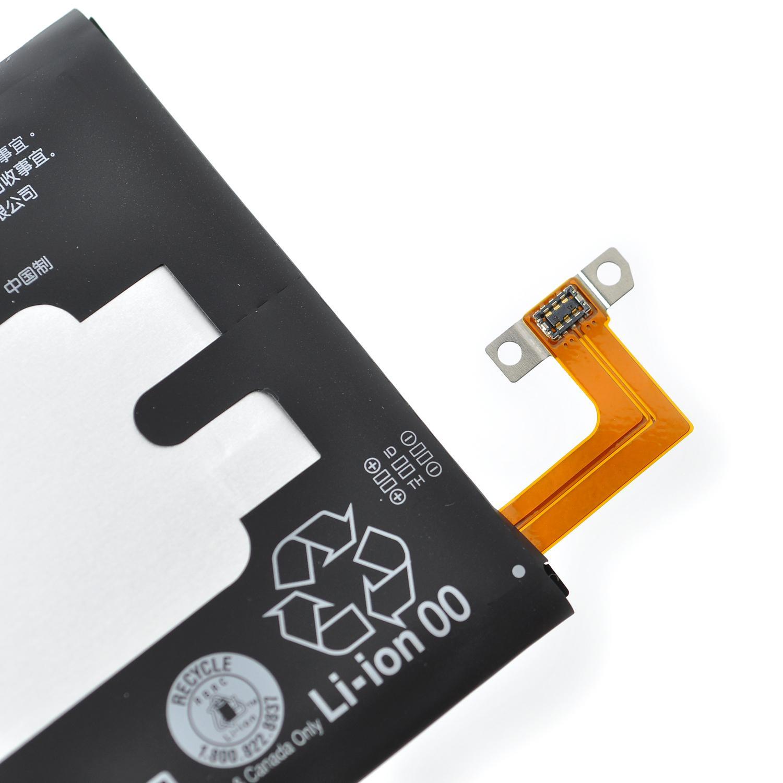 ... Htc Baterai / Battery HTC M8 Original BOP6B100 Kapasitas 2600mAh + Gratis Kabel Otg Micro Usb