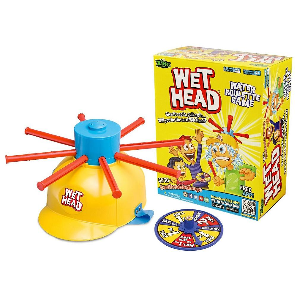 Permainan Anak Wet Head Game atau Wet Head Helmet Game