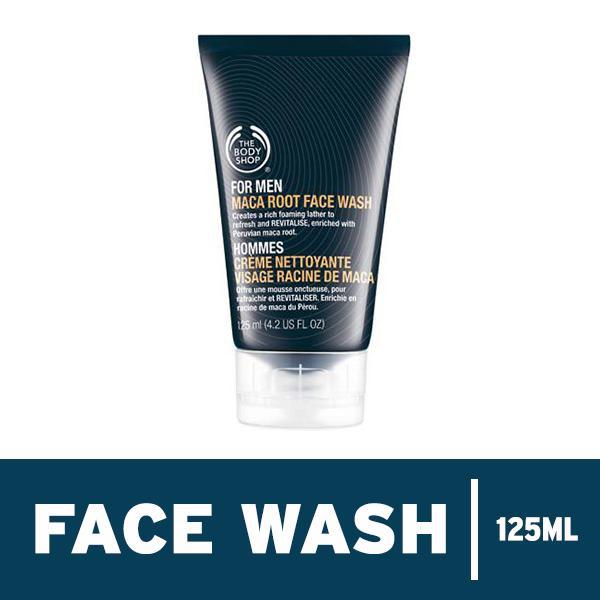 Diskon The Body Shop Maca Root Face Wash 125Ml Akhir Tahun