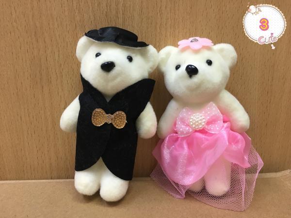 ... Boneka Wedding Couple Bear MK Souvenir Kado Pernikahan Pengantin - 4 ...