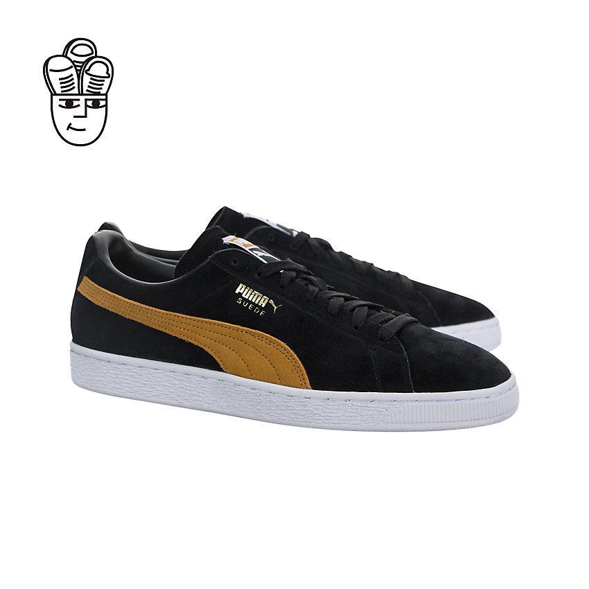 Puma Suede Classic Mens Lifestyle Shoes Hitam - Daftar Harga ... 091f9f569b