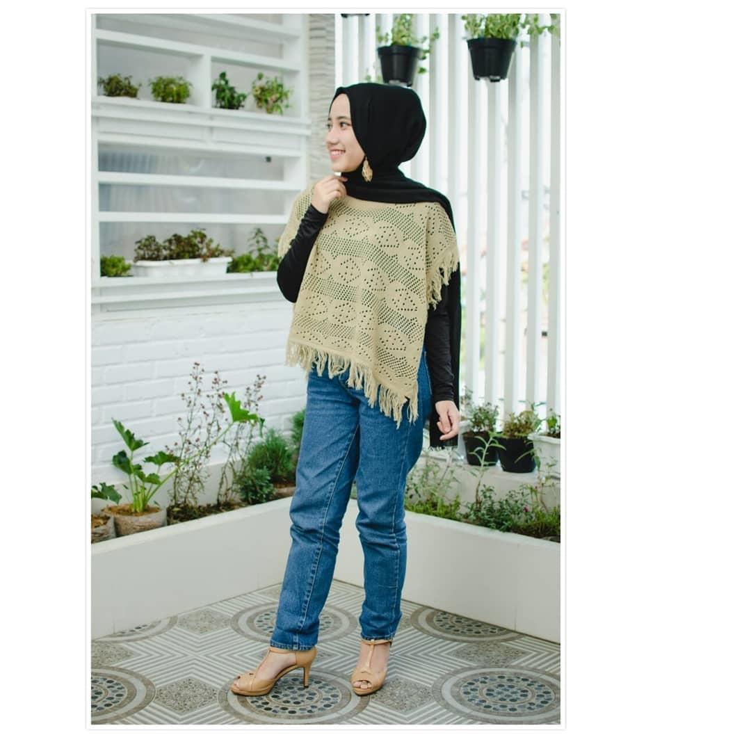 Detail Gambar NANCY RUMBAI loekita grosir jaket sweater baju atasan blouse rajut hijab terbaru kekinian wanita