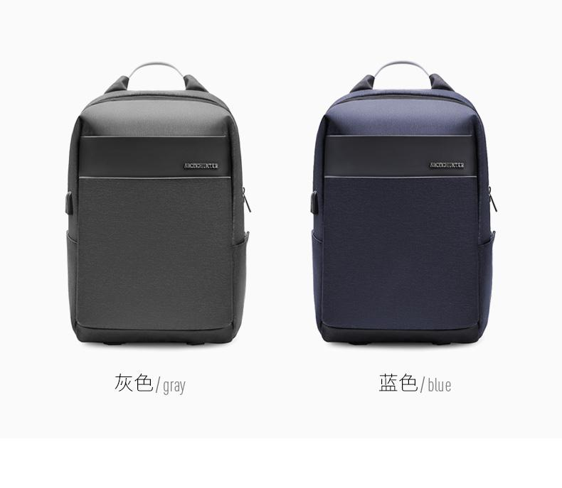 ... ARCTIC HUNTER USB Charging Backpack Fit up to 15.6 inch Laptop Bag - 3 ...