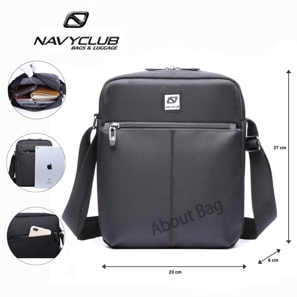 Navy Club Tas Selempang Tablet Ipad Tahan Air 65551 - Hitam