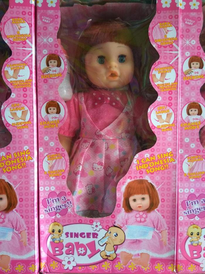 Boneka Singer Baby Bisa Nyanyi Bicara Tertawa Dan Nangis Original  Boneka01708 - 4 . abeeef3a4f
