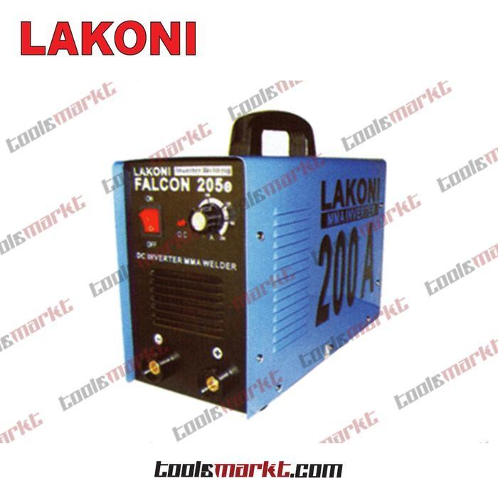 ORIGINAL - Lakoni Falcon 205 E Mesin Las MMA Inverter Falcon205E 205E