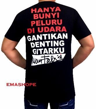 Fitur Ema Shope Kaos Distro T Shirt Distro Atasan Pria Wanita 100