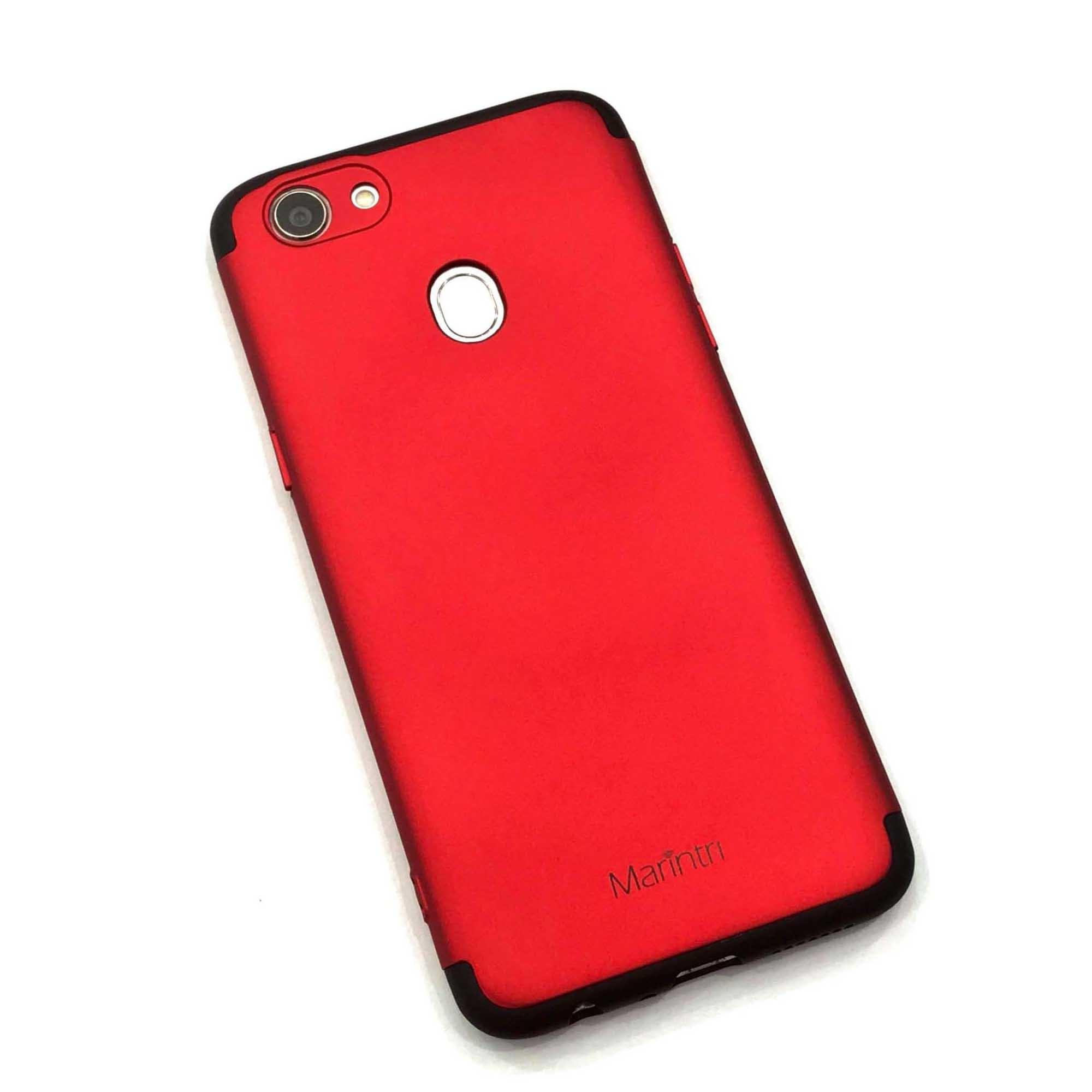 Marintri Case Samsung Galaxy J3 Pro - 360 Full Protection Red -  black