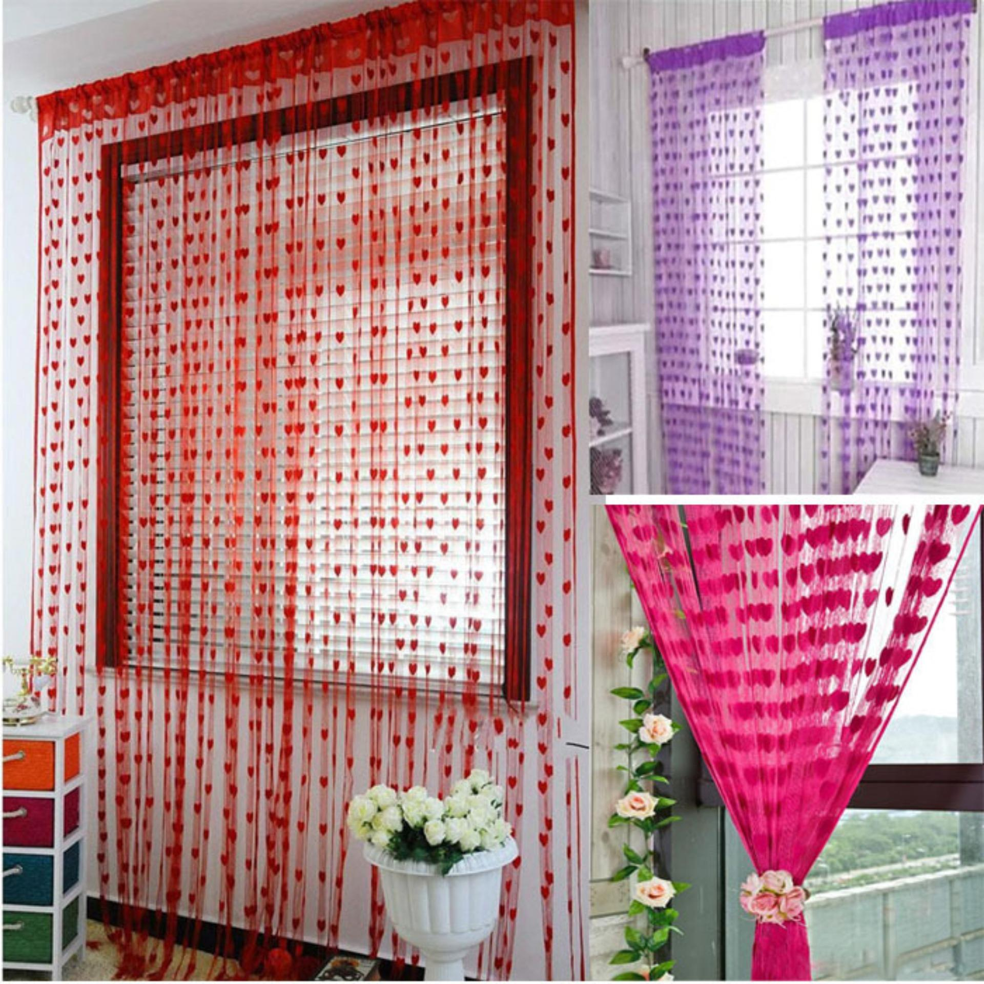Tirai Benang Jendela dan Pintu