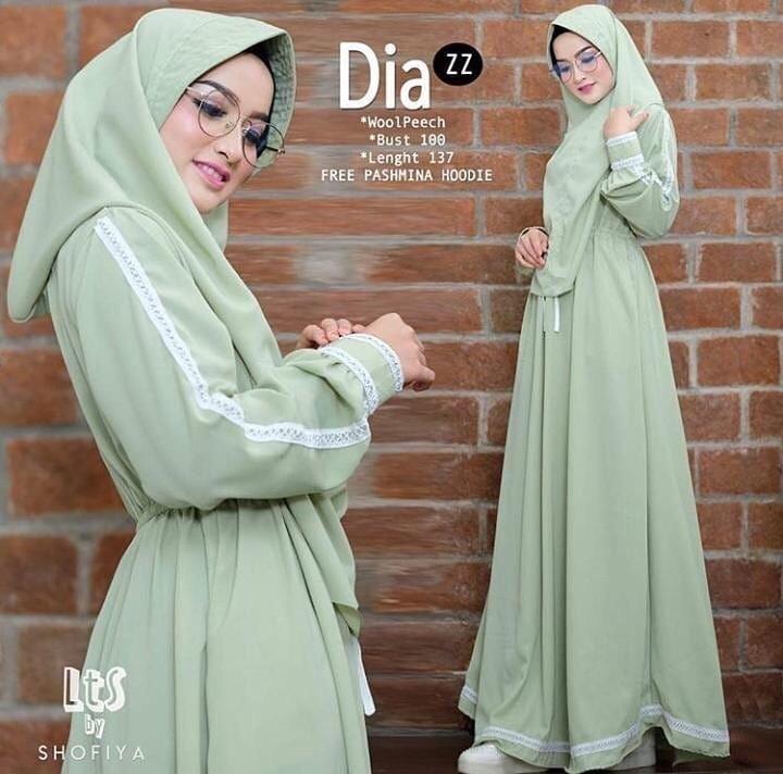 Features Baju Muslim Original Dia Syari Dia Syari Baju Syari