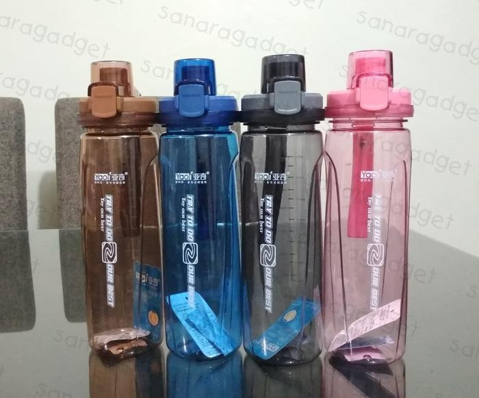Botol Minum Try To Do Our Best 800 ml - Botol Air Minum B019-3