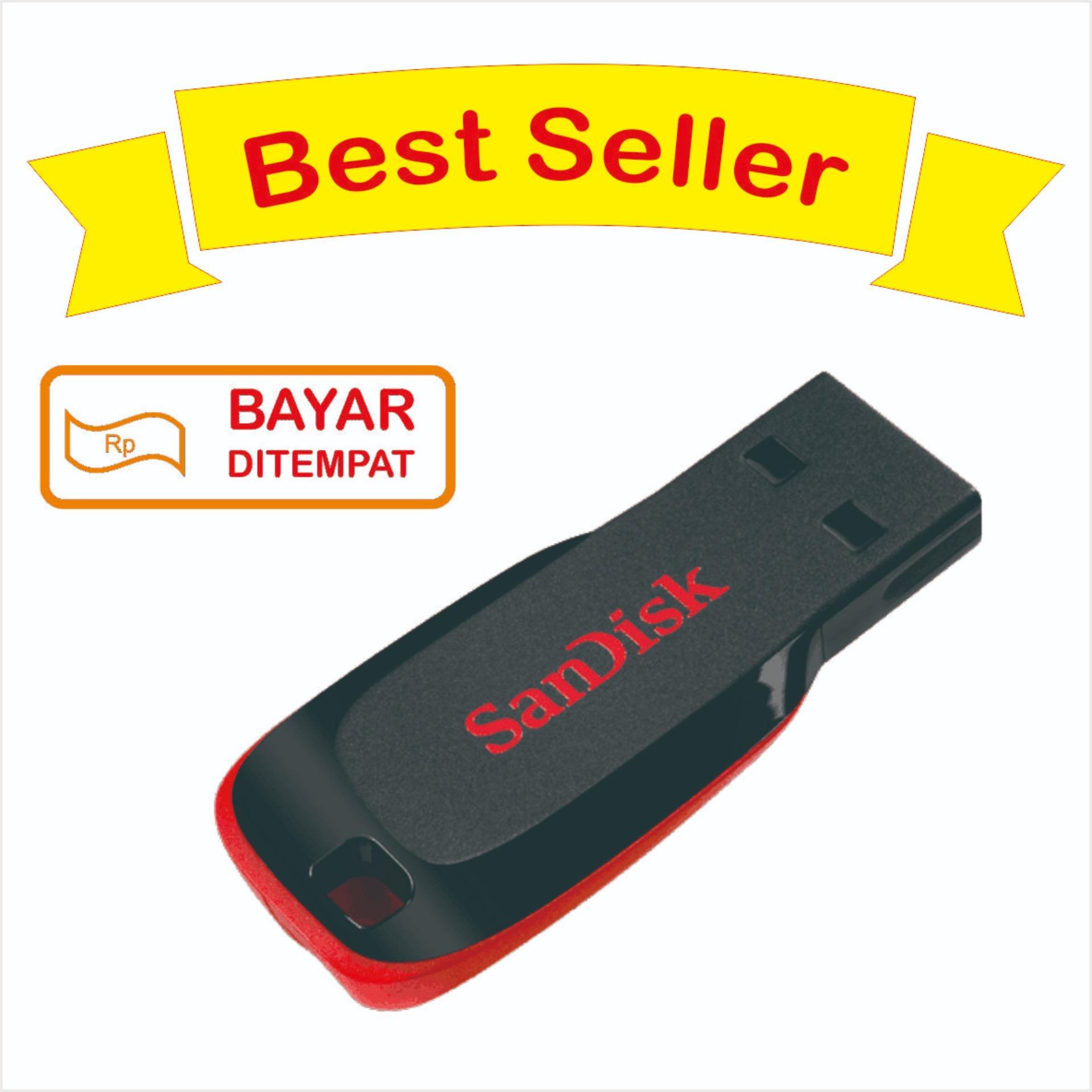 Fitur Sandisk Flash Disk 16 Gb Cruzer Blade Dan Harga Terkini Flashdisk Original