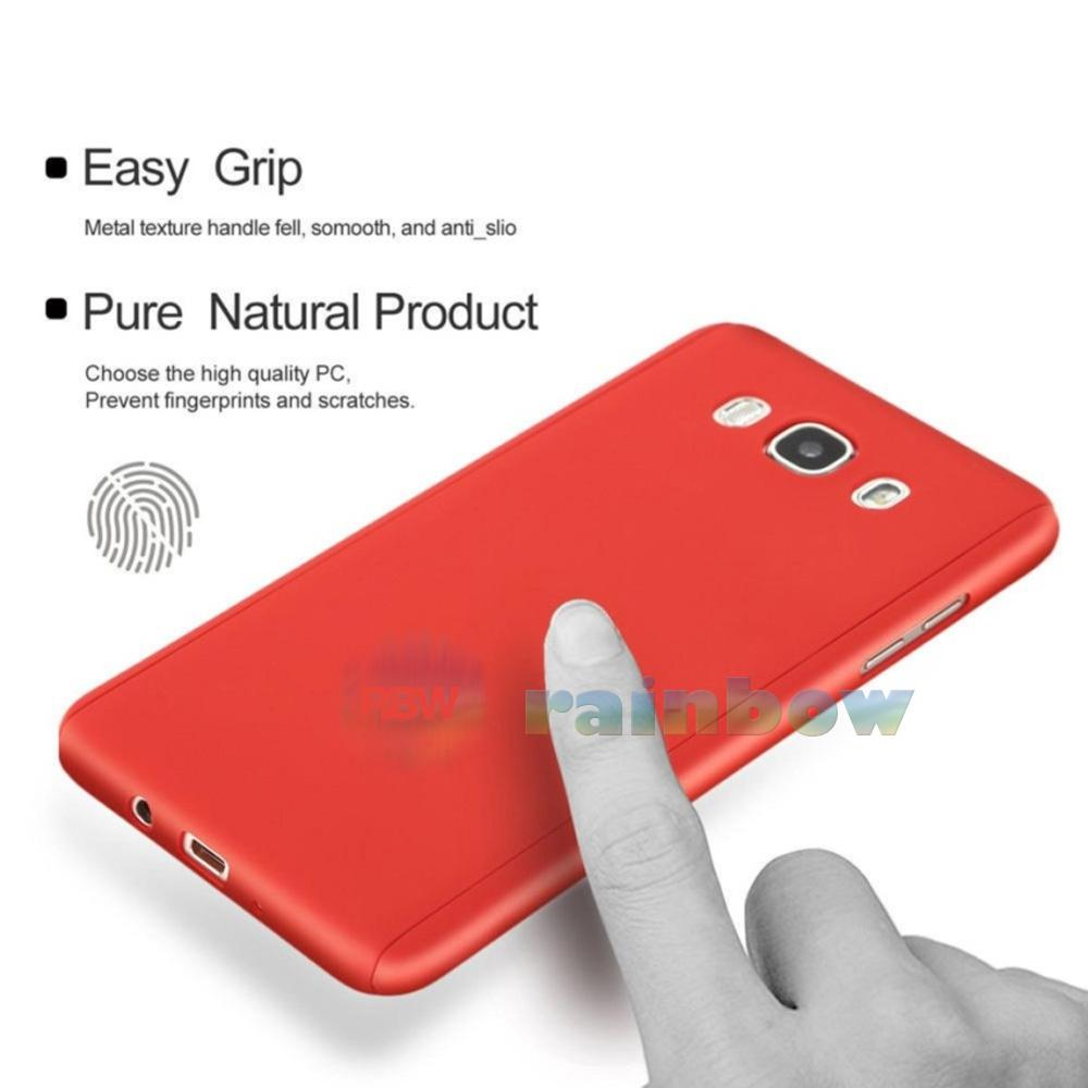 Rainbow Soft Case 360 Samsung Galaxy J2 Prime Black (2in1) Baby .