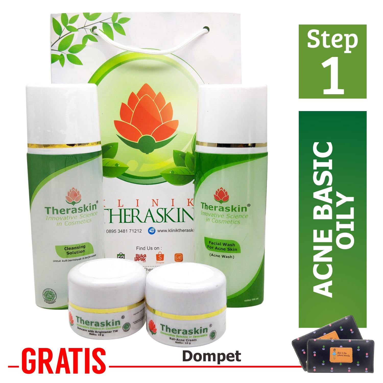 Harga Cream Theraskin Paket Acne Jerawat Untuk Kulit Berminyak Paket Theraskin Berjerawat For Oily Gratis Dompet Theraskin Original