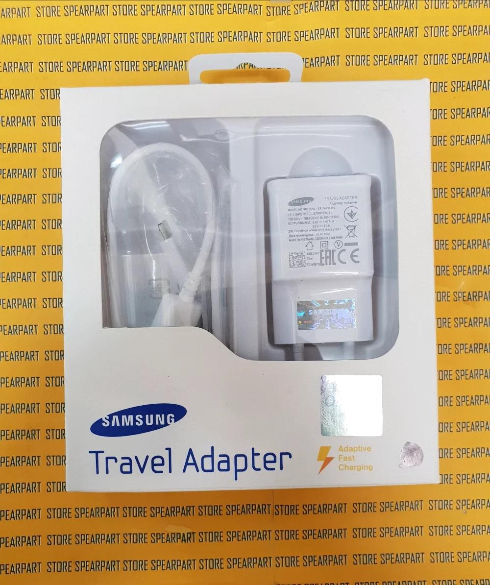 Travel Charger Casan Samsung Galaxy J1 J2 J3 J5 S3 S4 S5 S6 Note 3 Note 4 Note 5 Fast Charging 15W