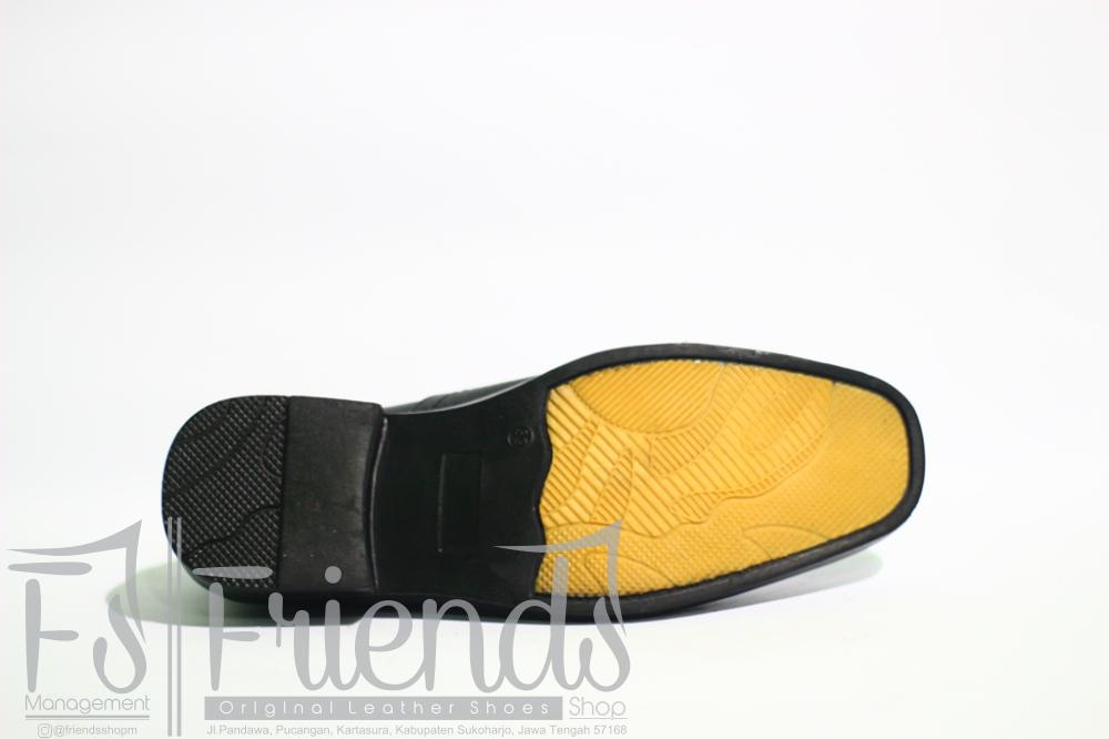 kickers - sepatu pantofel pria kulit sapi kickers 100 % asli formal dinas - 4
