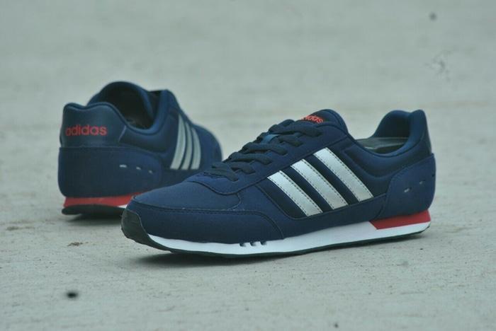 ... sale sepatu adidas neo city racer original navy metalik adidas city  racer r2kbnr 4 b5260 9b93e 8b4c070fbf