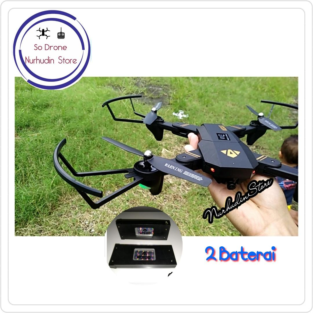 Drone Visuo XS809HW 2MP Camera with 2 Batteries