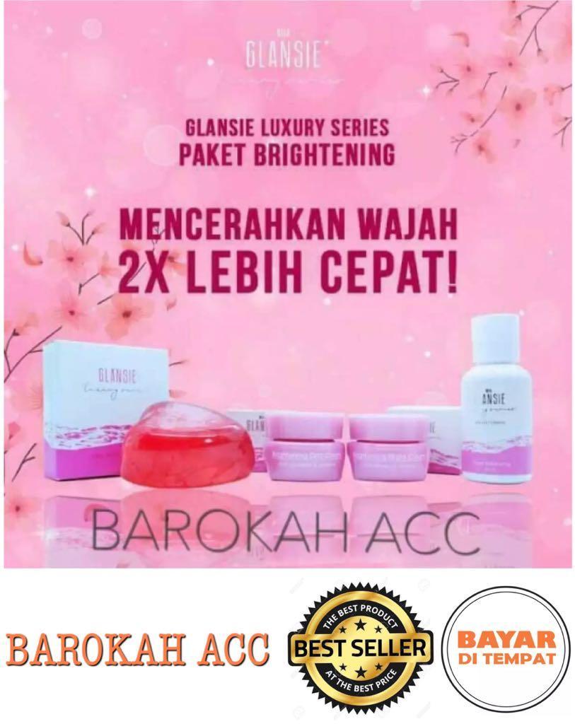 Cek Harga Baru Cream Wajah Glansie Luxury Series Bpom Paket Normal Beauty Care Drfajar Original Brightening Br