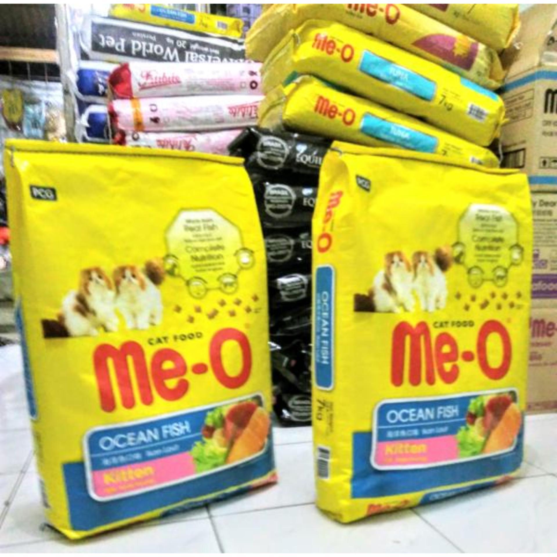 Kehebatan Cp Petfood Me O Salmon Cat Food 7kg Dan Harga Update Takari Fish 2mm Mix 500gr Makanan Kucing Kering Meo Kitten Dry