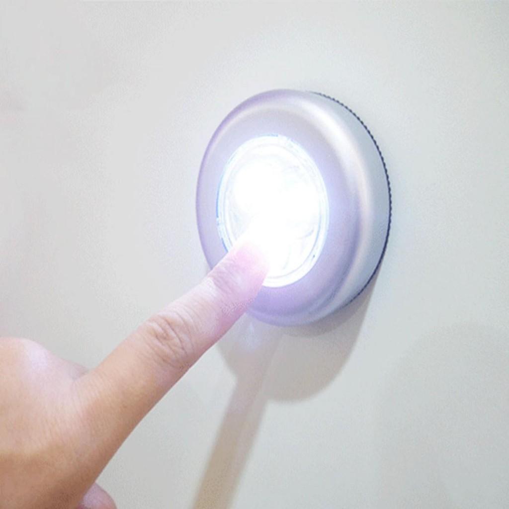 Fitur Bayi Kita Bkt0027 Stick Touch Lamp And Click Lampu Dinding Tempel Lemari Darurat Perlengkapan Rumah Tangga