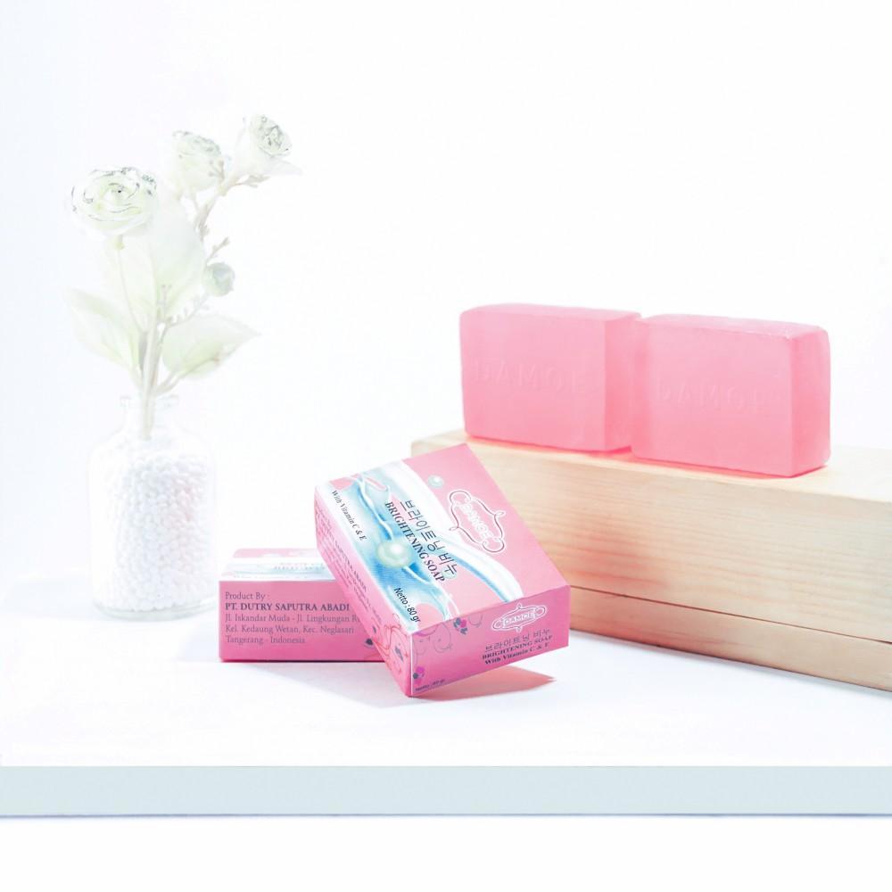 Review Damoe Brightening Soap Dan Harga Terbaru Informasi Sabun Awan Everwhite 2 3