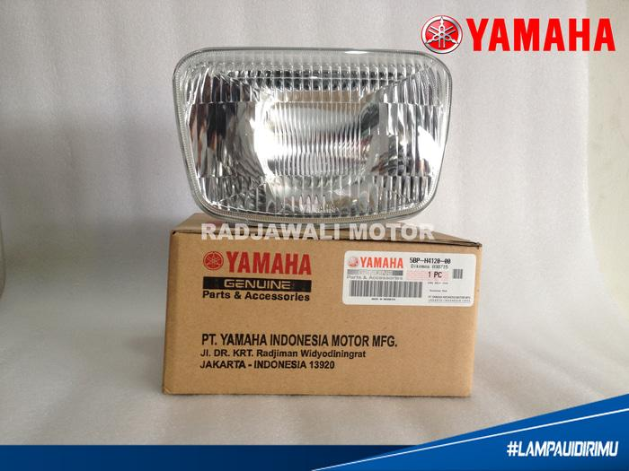 REFLEKTOR / LAMPU DEPAN RX KING NEW ONLY OVAL