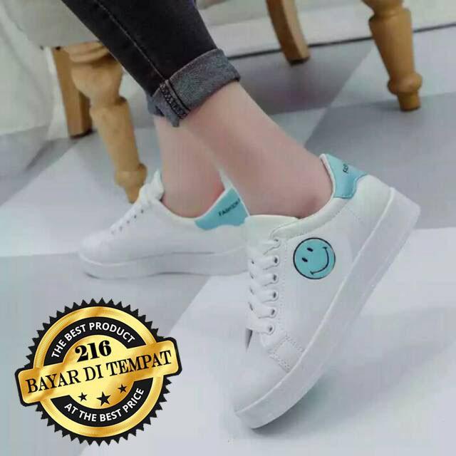 Kets Sneakers Wanita - Sepatu Wanita Smile - Sepatu Sekolah