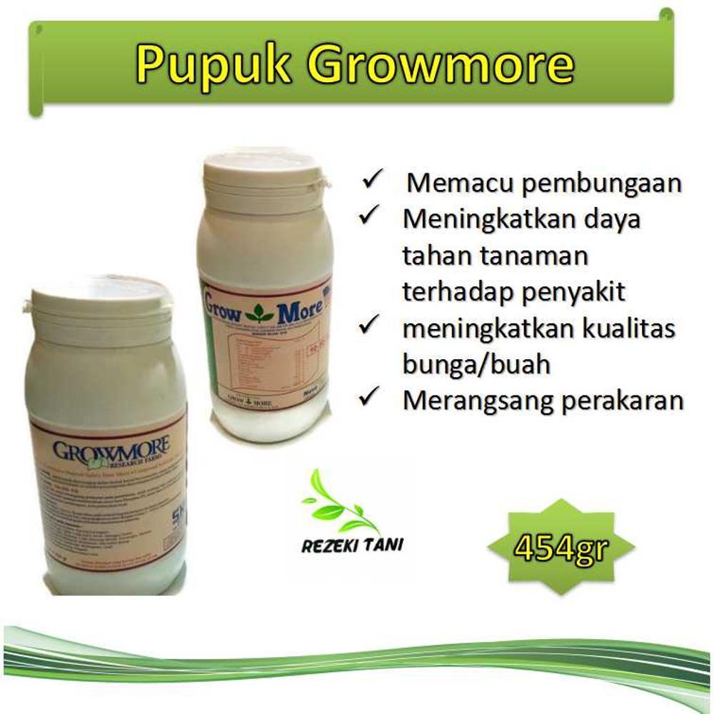 Growmore 10 55 Pupuk Npk Buah Bunga Batang Akar Referensi Nutrisi Dan 6 30 454gram 454 Gridr31000 Rp 35000