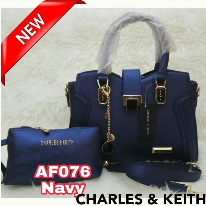 Tas wanita import Tas wanita tas fossil tas wanita branded tas hermes - Navy