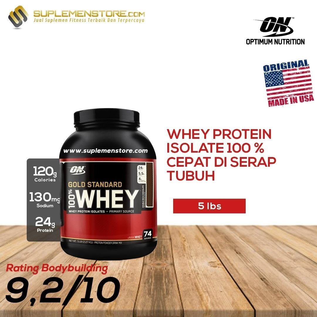 Daftar Harga Optimum Nutrition Gold Standard Whey Protein 5Lbs Optimum Nutrition