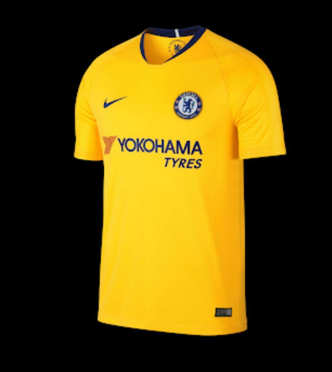 Cs - Jersey bola Chelsea away 2018/19 new
