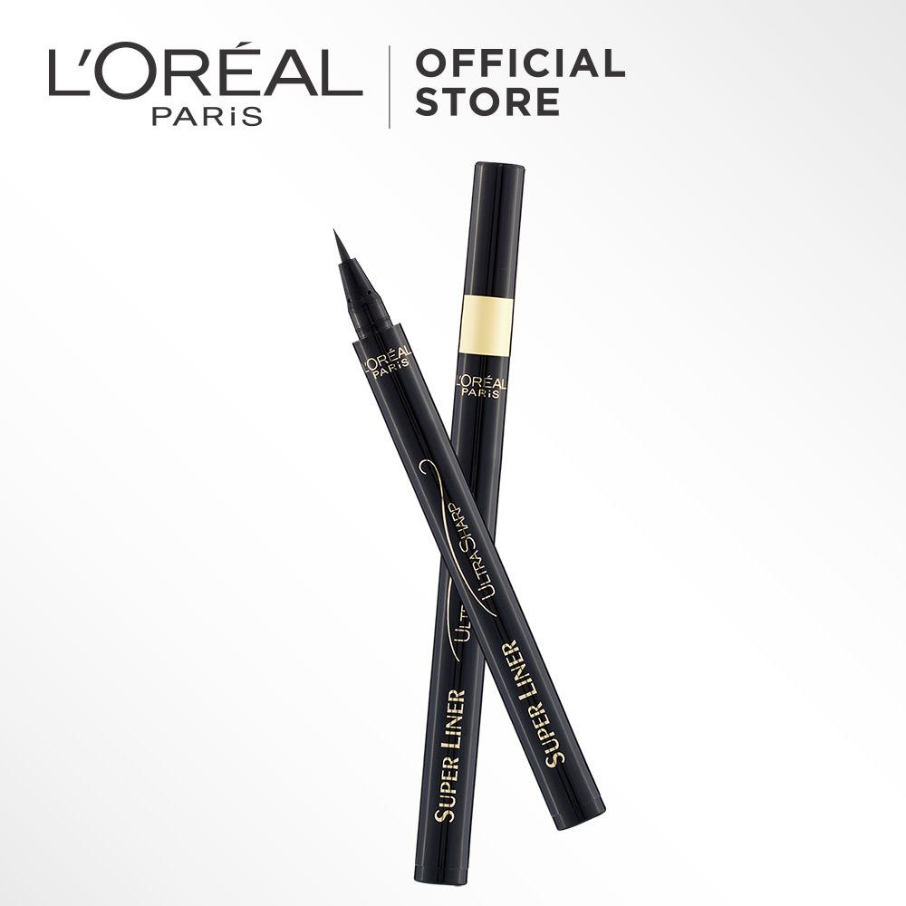 Harga Termurah L Oreal Paris Eyeliner Super Liner Ultra Sharp Black