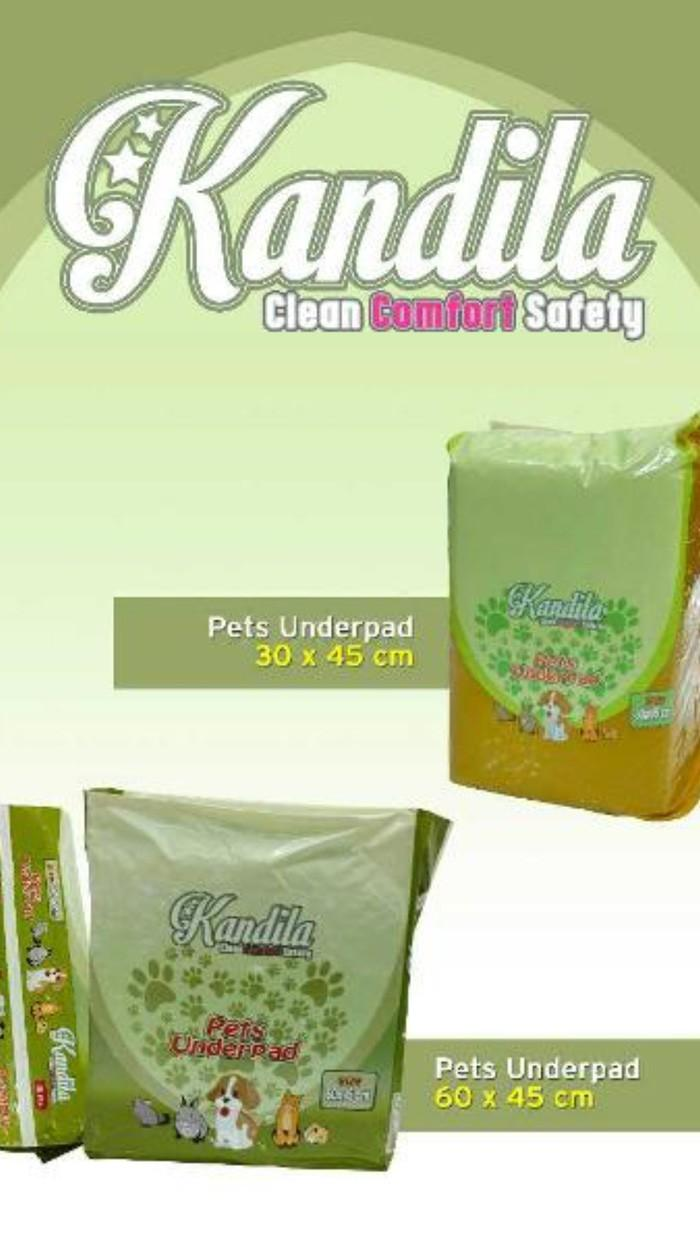 Kelebihan Baru Pet Underpad Kandila Uk 30 X 45 Cm Isi 50pcs Ready Sensi Stock