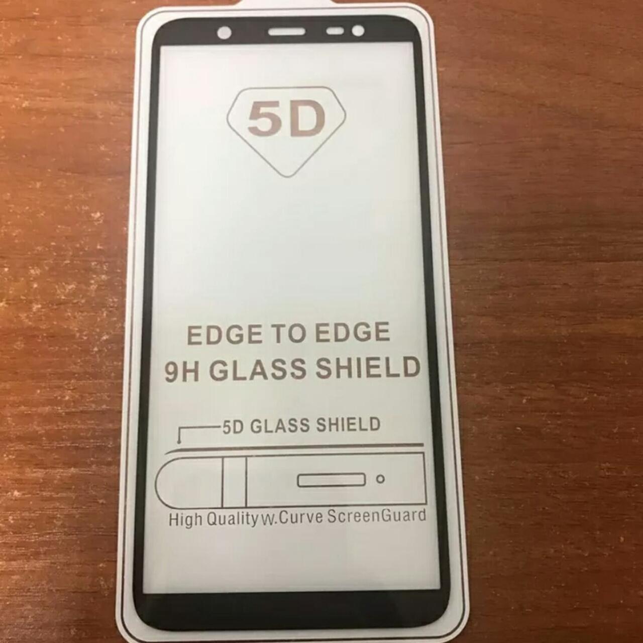 Detail Gambar Tempered Glass Samsung Galaxy J8 2018 5D Full Screen Protector Terbaru