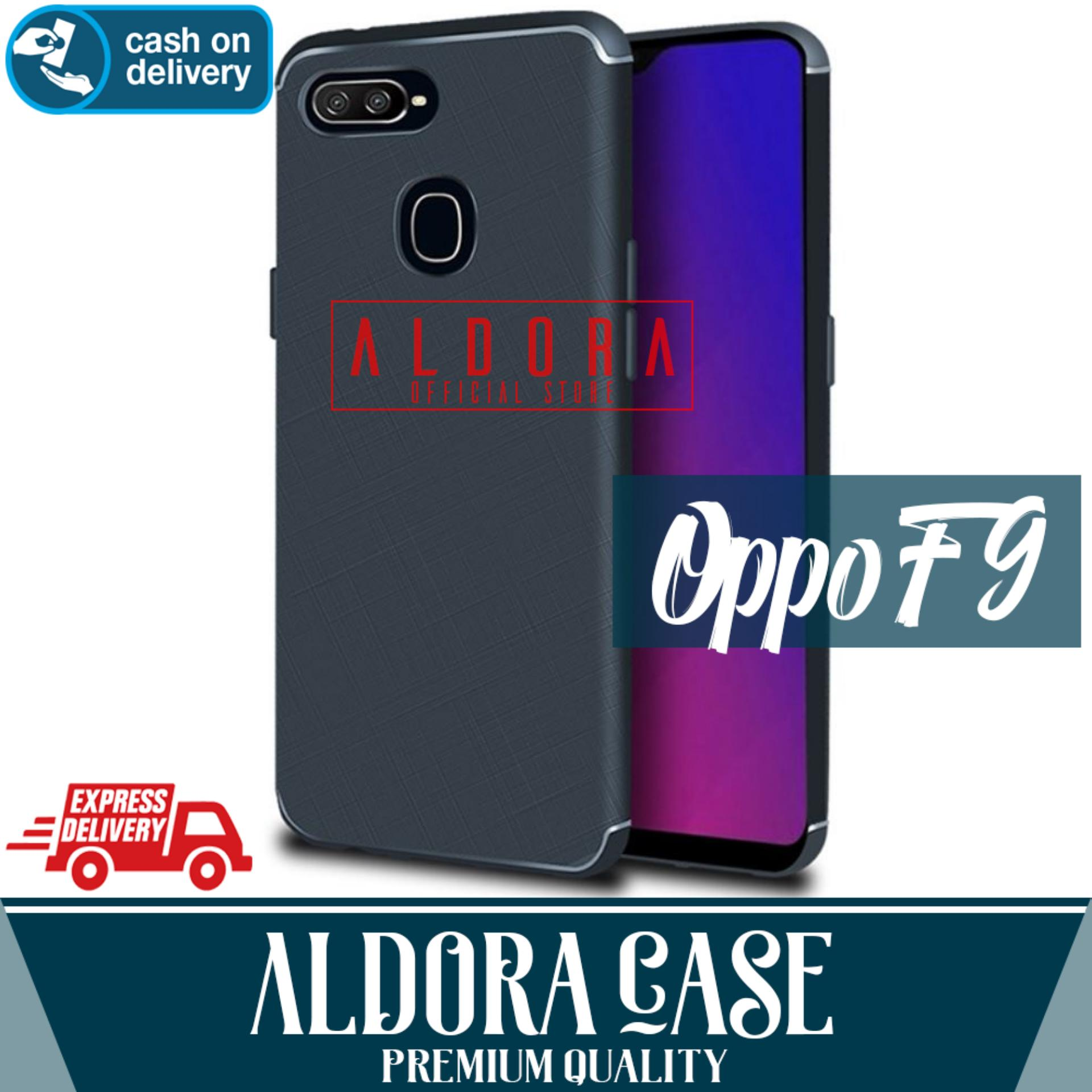 Features Aldora Case For Oppo A3s Softcase Ultraslim Cross Line Case