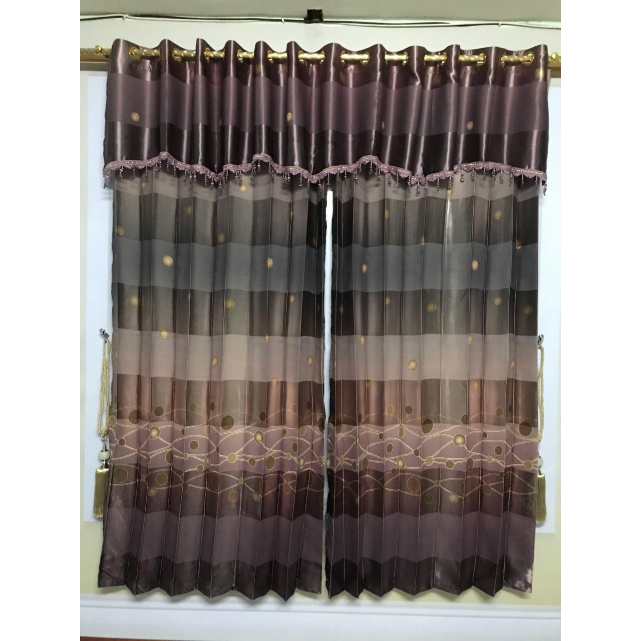 ... Gorden Import Korden Blackout Print Smokring Type Nagita 230 Ungu - 3