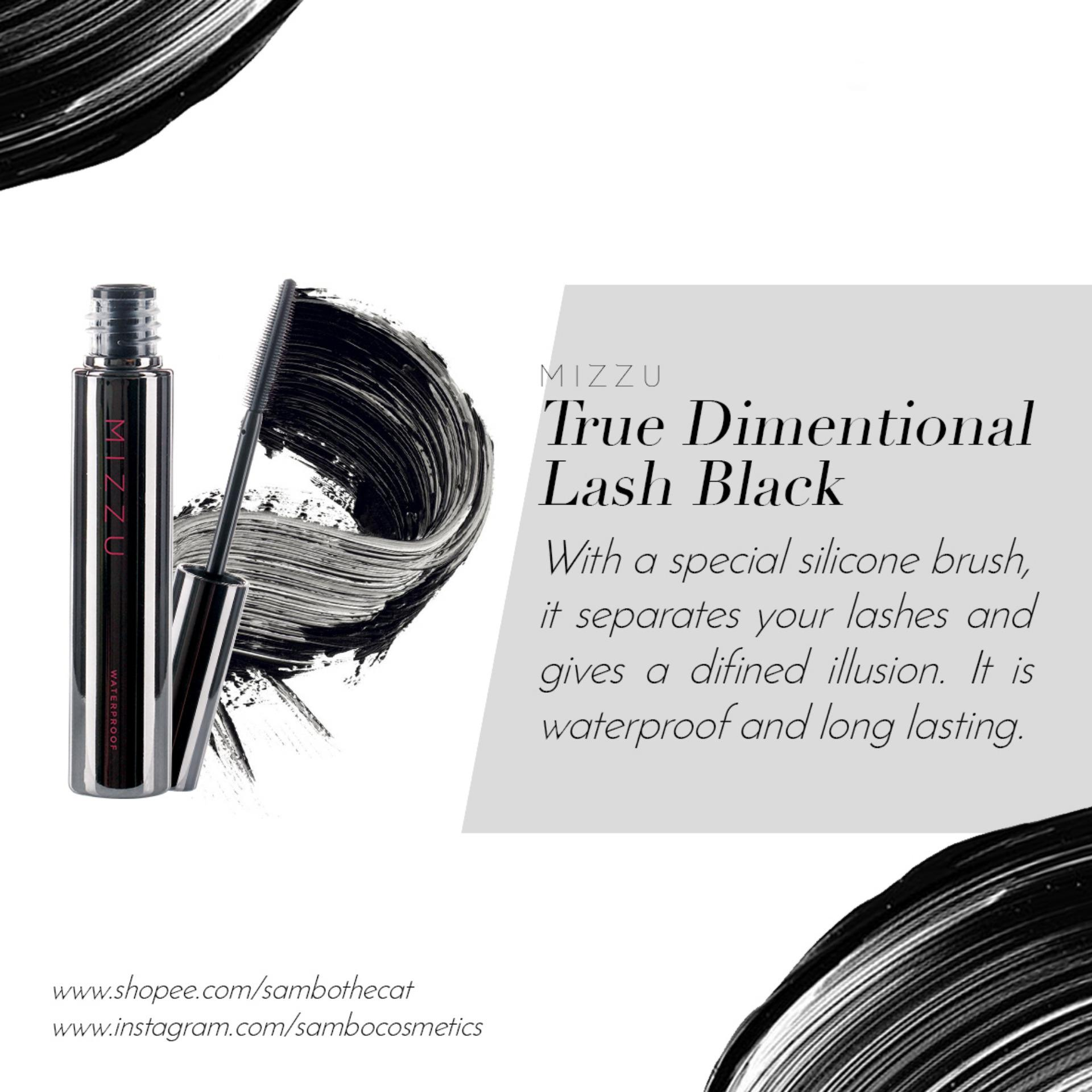 Kehebatan Mizzu True Dimensional Lash Black Waterproof Mascara Dan Loreal False Miss Manga Hitam