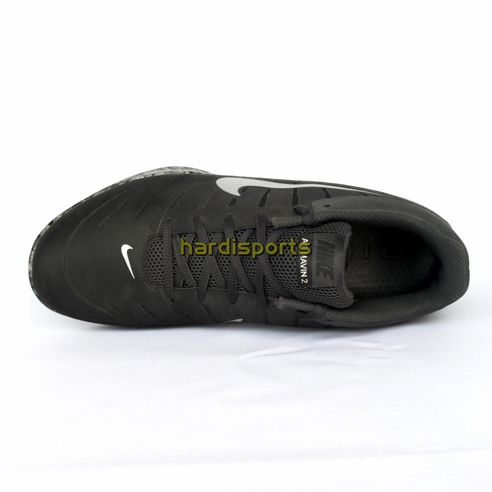 Fitur Sepatu Basket Pria Nike Air Mavin Low 2 830367 003 Blcak Relentless6 Hitam Putih Silver 4