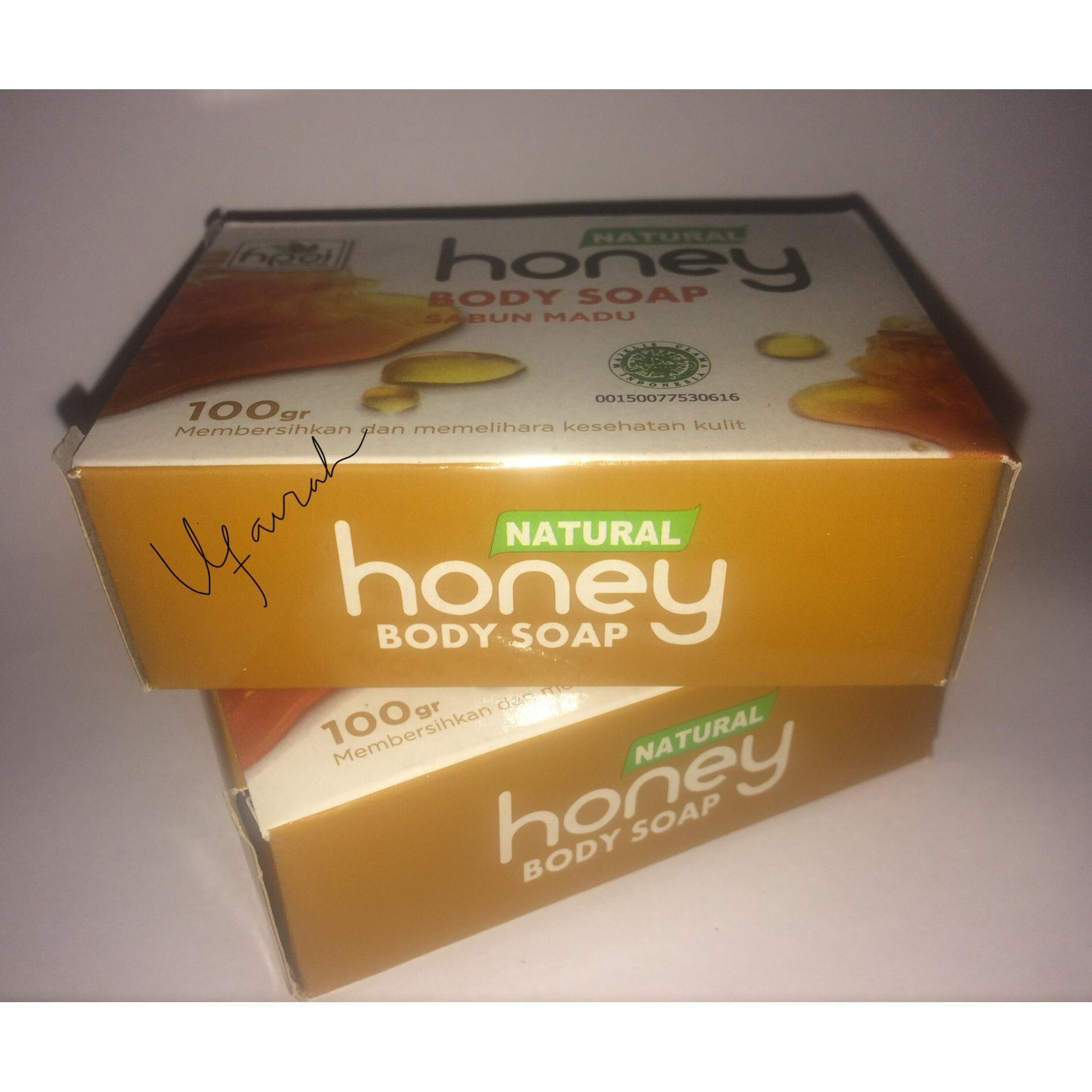 ufaiirah paket sabun honey (madu) hpai isi 2