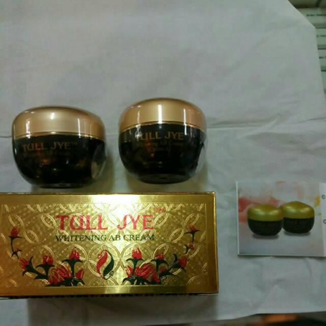 Detail Gambar TOSERBA MU Kosmetik - Tull Jye Whitening AB Cream 15gr Red - Jakarta Suplier