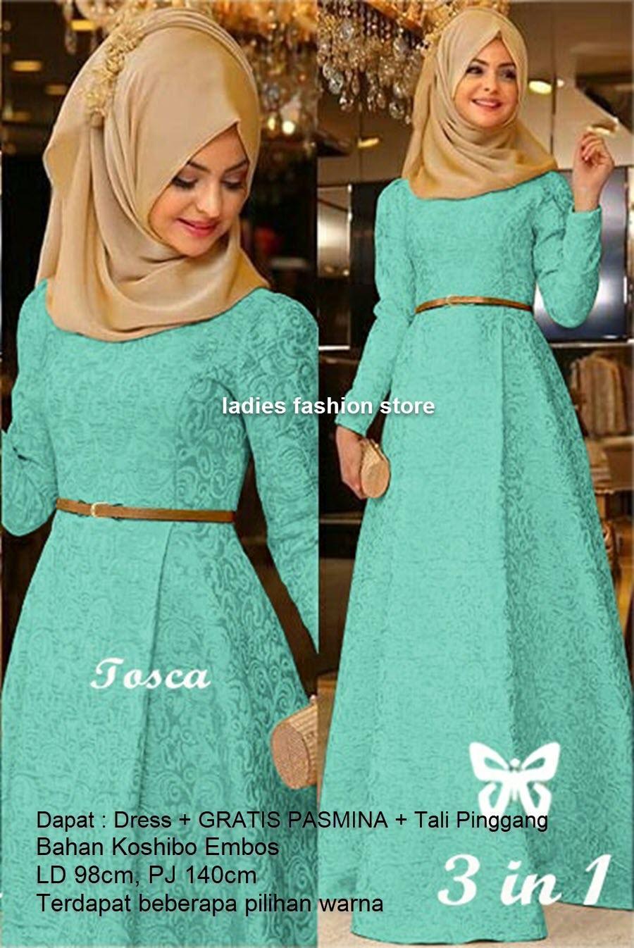 Fitur Gamis Wanita Muslimah Modern Gamis Remaja Polos Murah Dress