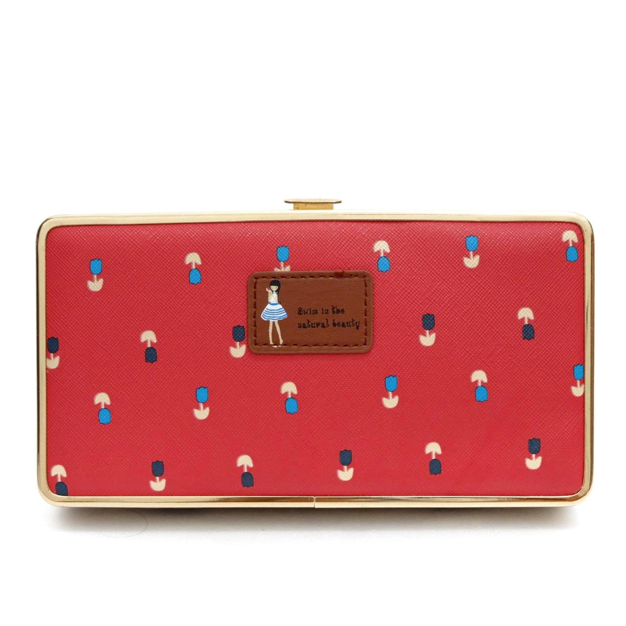 Jims Honey - New Style Woman Wallet - Darly Wallet (Red)